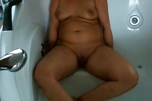 my lustful wife in the bathtub