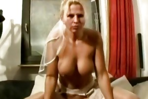 non-professional homemade trio with wicked milfs