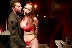 breasty redheaded d like to fuck receives