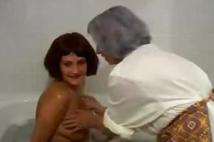 granny loves to massage