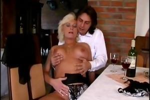 german mommy enjoys her st anal sex