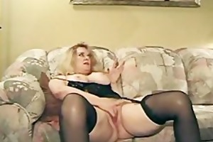 aged is plump and taking on dicks hardcore nylons