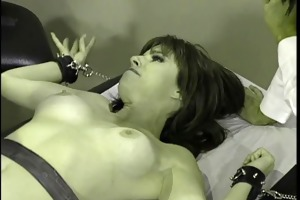 a doctor and hot nurse introduce a redhead to