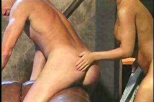 blonde mistress whips guys heine