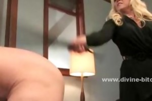 blonde d like to fuck mistress using her