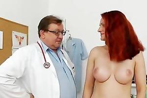 big-breasted matured getting a gyno
