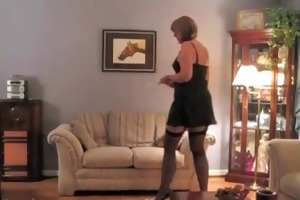 mature d like to fuck naked - retro nylons granny