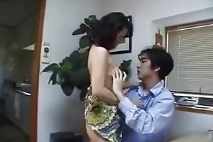 japanese mother finds knob at home ! uncensored
