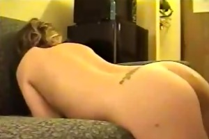 cam dilettante wife with sexy wazoo drilled in do