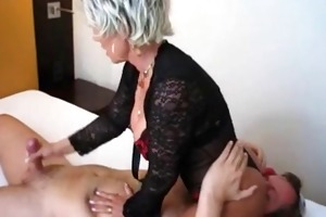 lewd wife sits on his face