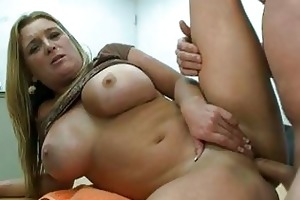 chunky blonde mother i with massive pantoons