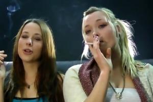 suzi smoking.