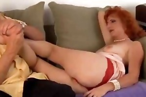 hot mature red head t live without to fuck