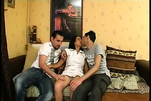 3 guys for the unshaved wet crack of sonia