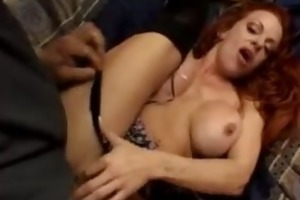 red-head d like to fuck receives drilled