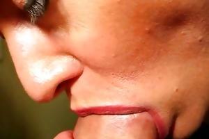 closeup dick engulfing