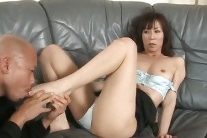 greatly lewd japanese milfs engulfing