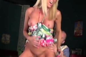 erica lauren receives mouthful of cum