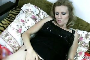 lustful granny likes having lesbian sex part6