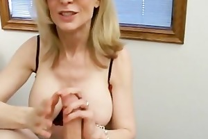 pretty blond milf with an apetite for dongs
