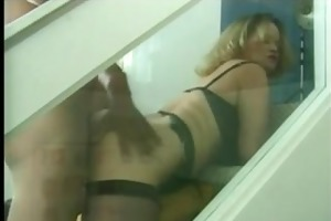 big beautiful woman floozy mamma in nylons