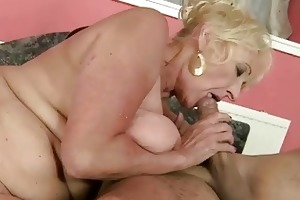 sexy granny fucking with her tutor