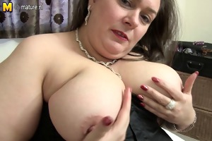 british big beautiful woman mama lucie with