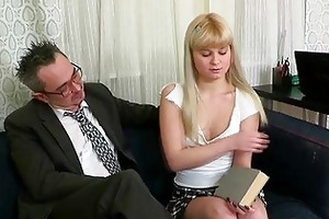 oral pleasure for aged teacher