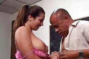 fleshy mommy experiences teachers huge cock...f70