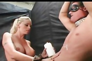 massive titted blonde mommy receives screwed by a