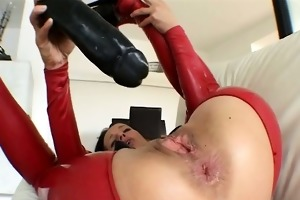 immodest aged wench goes mad marital-device part3