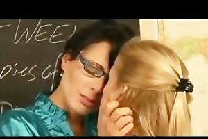 teachers learn lesbo lesson