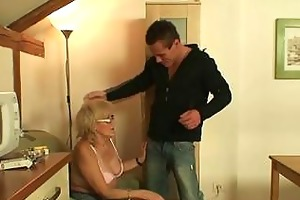 wicked granny obscene games with giant youthful