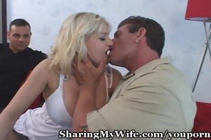 big-titty wifey enjoys recent shlong