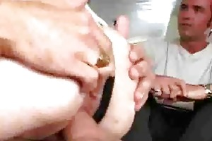 cuckold shlong riding with lewd wives in belts