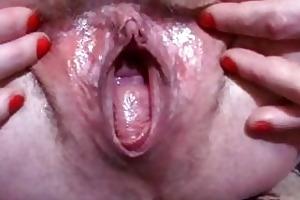 older preggo dilettante massive bawdy cleft widens