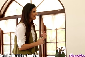 babe india summer old and youthful tribbing
