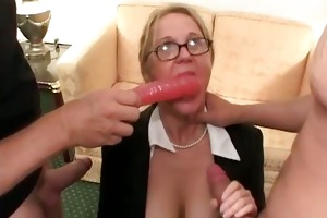 blond chunky mother i getting fingered