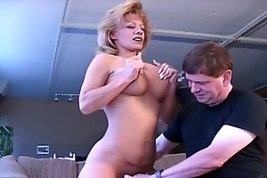 breasty lustful mama craves to acquire naughty dad