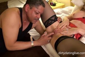 nina hartley gives pussy take up with the tongue