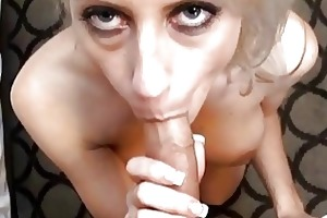 busty blonde mother i with astonishing gazoo does