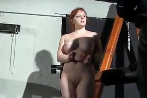 tina trapped and punished in a dungeon