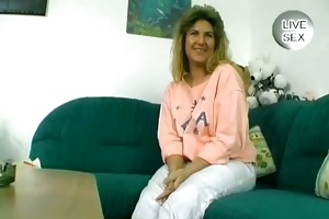 excited milf dark brown void urine and fuck her