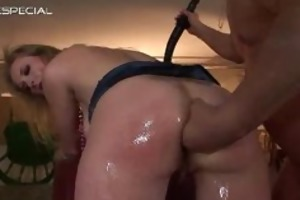 aged mama receives all her holes filled part1