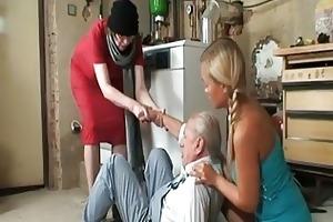 older man desires to smack some nice...