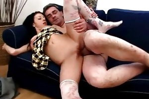wild fucking with older chap