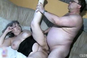 smutty old woman goes avid sucking part4