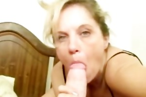 this sexually excited bitch is older and has done