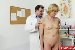blond-haired gramma fuck hole exam