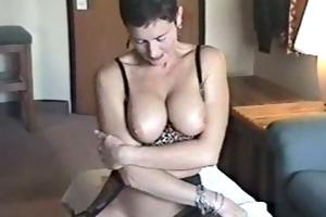 sexy bod wife sextoy teaser with a facial